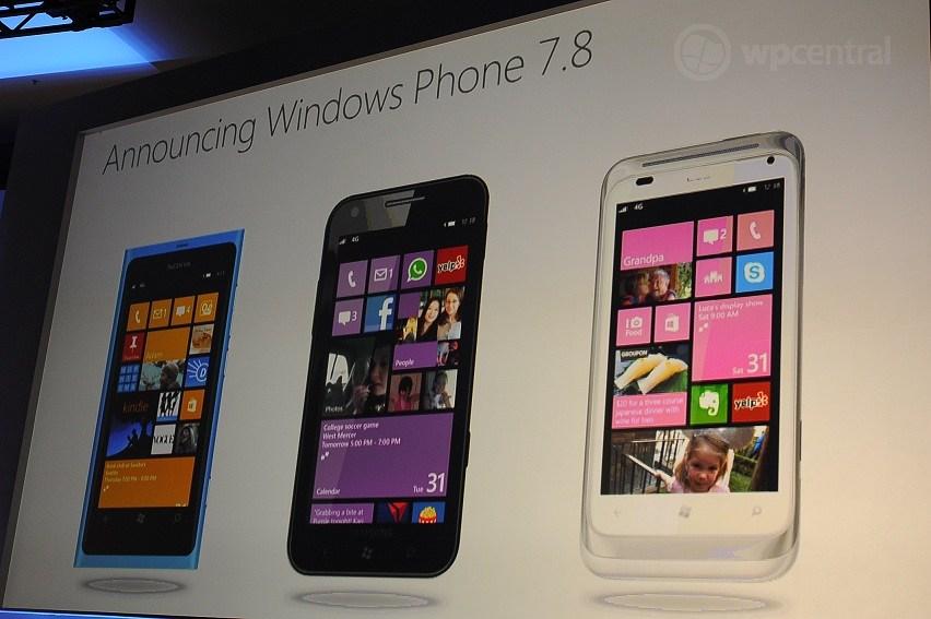 Windows Phone 7.8 podría llegar este mismo miércoles