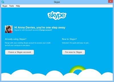 Validación en Skype