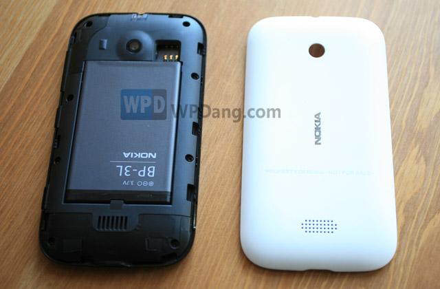 Nokia Lumia 510 tapa trasera blanca