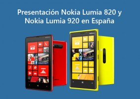 Presentación Nokia Lumia 820 y Nokia Lumia 920 en España