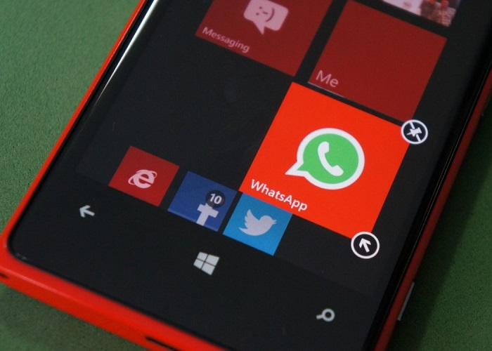 WhatsApp en Windows Phone 8