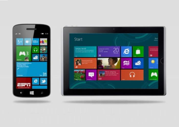 Windows 8 y Windows Phone 8