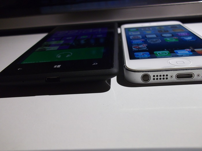 Windows Phone 8X vs iPhone 5
