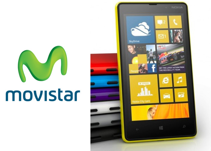 Nokia Lumia 820 con Movistar