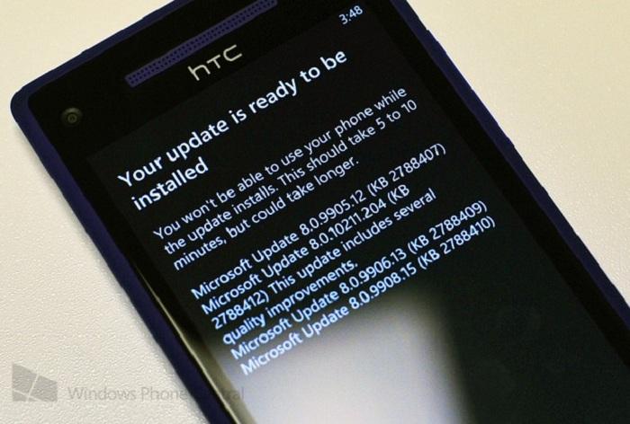 Primera gran actualización de Windows Phone 8