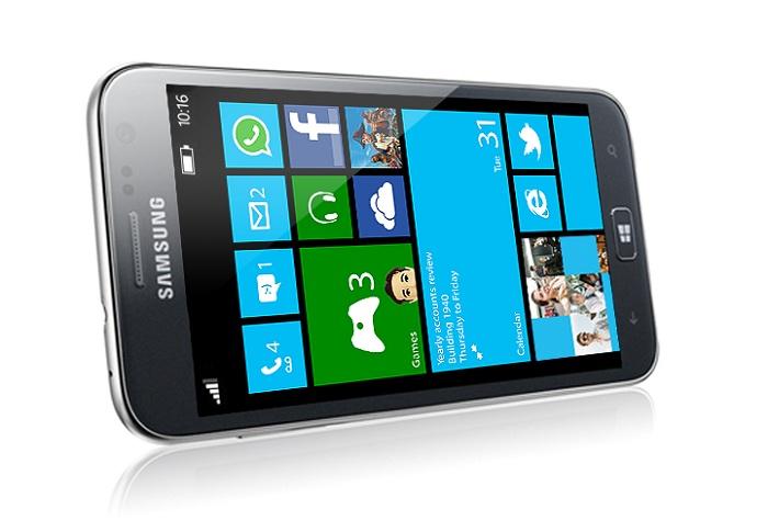 Samsung ATIV S - Tumbado