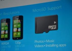 Tarjeta SD y sus funciones en Windows Phone 8