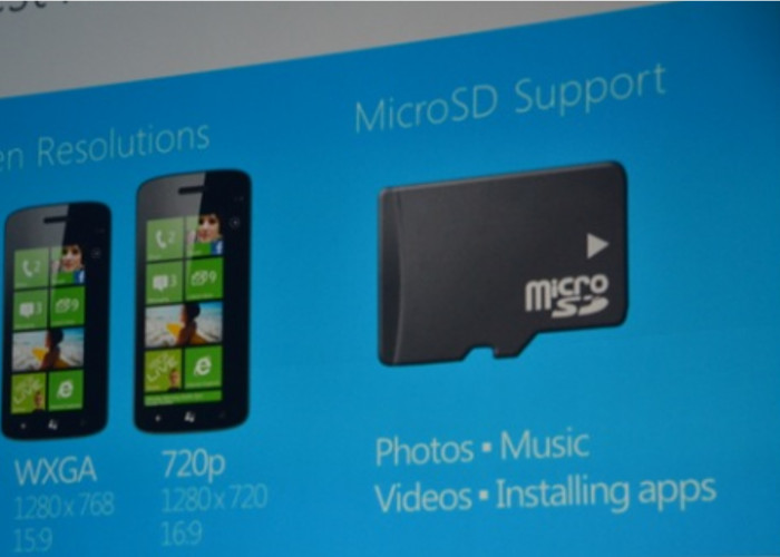 tarjeta de memoria windows phone