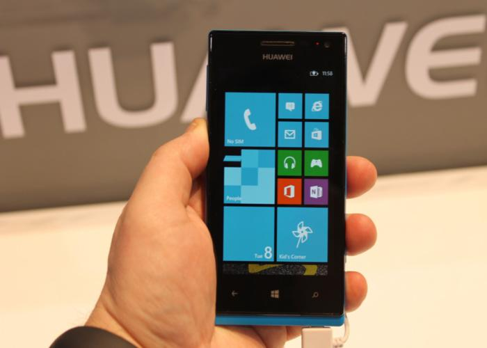 Huawei presenta Ascend W1 su primer smartphone con Windows Phone 8
