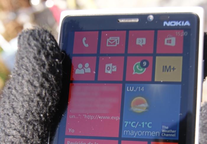 Nokia 920 al sol