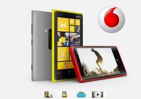 Nokia Lumia 920 en exclusiva con Vodafone