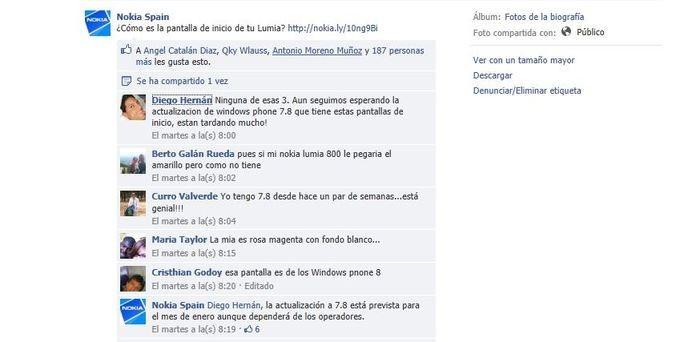 Nokia España Facebook