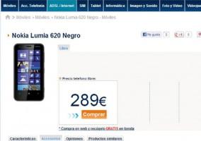 Nokia Lumia 620 en Phone House