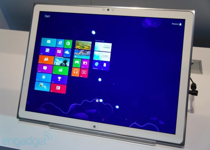 Panasonic presenta un tablet de 20 pulgadas con resolución 4K