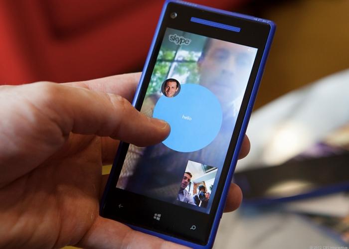 Skype para Windows Phone 8 se actualiza a v2.1
