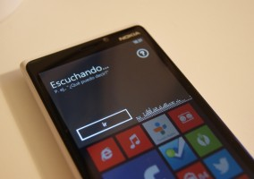 Windows Phone esperando una orden