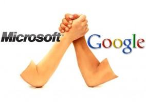 Google en contra de Microsoft