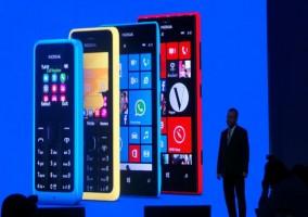 Director Ejecutivo Nokia en la conferencia en Barcelona
