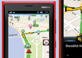 Aplicación para navegación GPS presentado en MWC
