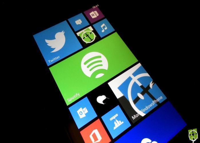 La aplicación que permite la reproducción de música en streaming disponible en Windows Phone Store