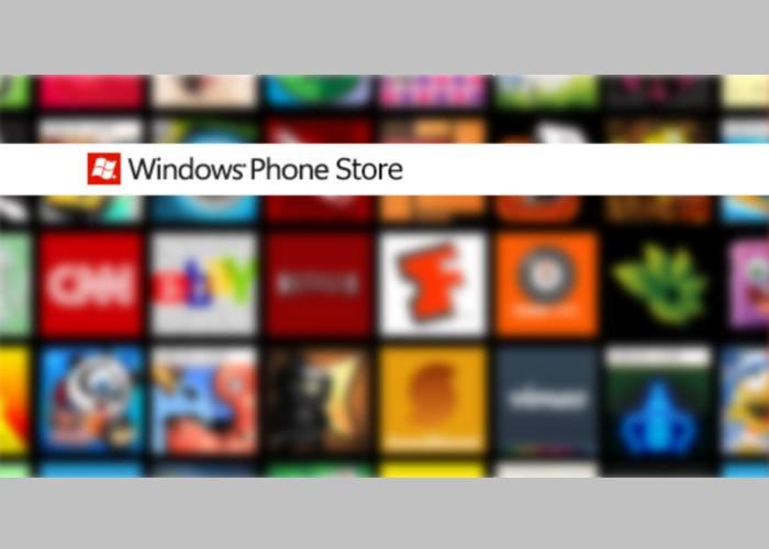Tienda de aplicaciones de Windows Phone