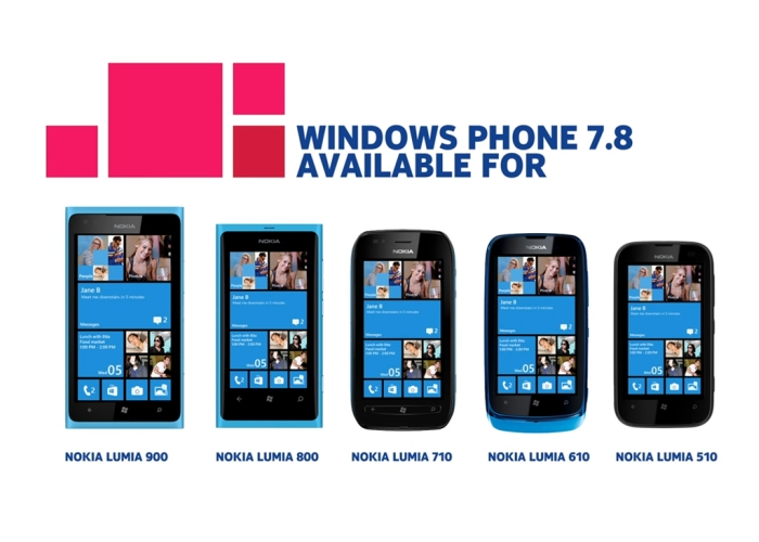 nokia actualizacion windows phone 7.8