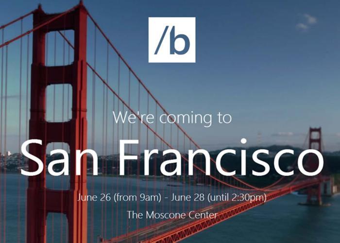 Conferencia de Microsoft para desarrolladores en junio