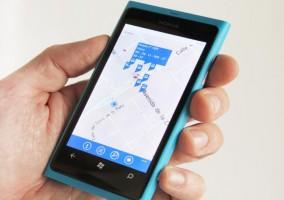 Aplicación del servicio de transporte público de Madrid con Windows Phone
