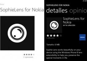 Sophielens para Nokia