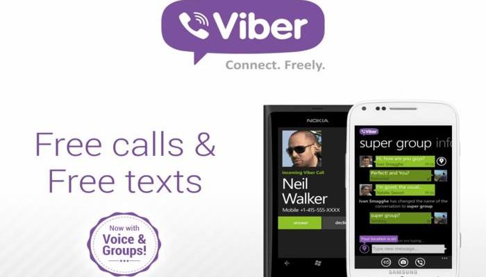 La aplicación Viber llegará a Windows Phone 8