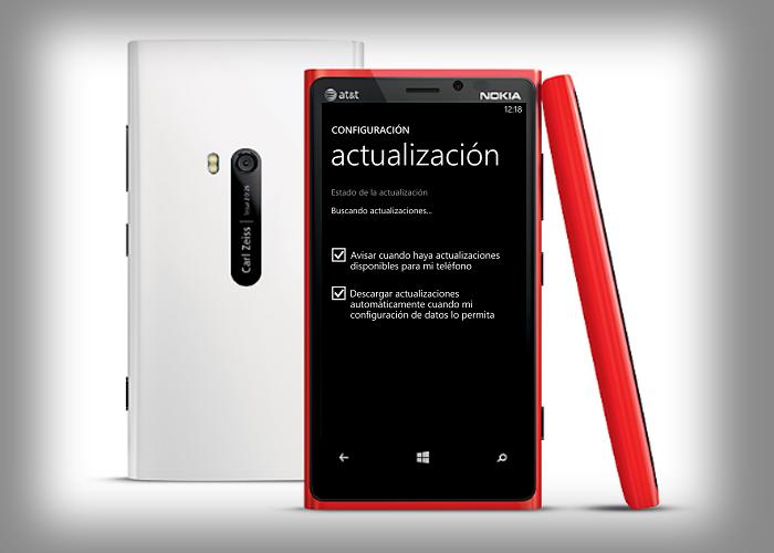 Actualización de Nokia Lumia 920
