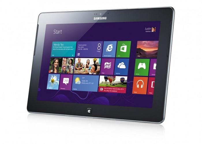 Tableta Samsung ATIV Tab con Windows RT