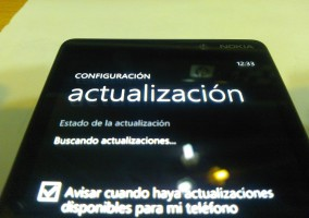 Actualización de Windows Phone 8 para Nokia Lumia 820