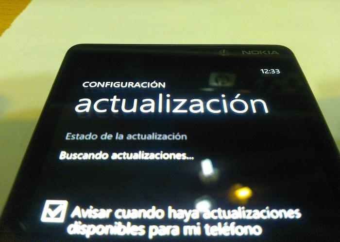 Actualización de Windows Phone 8 para Nokia Lumia 820