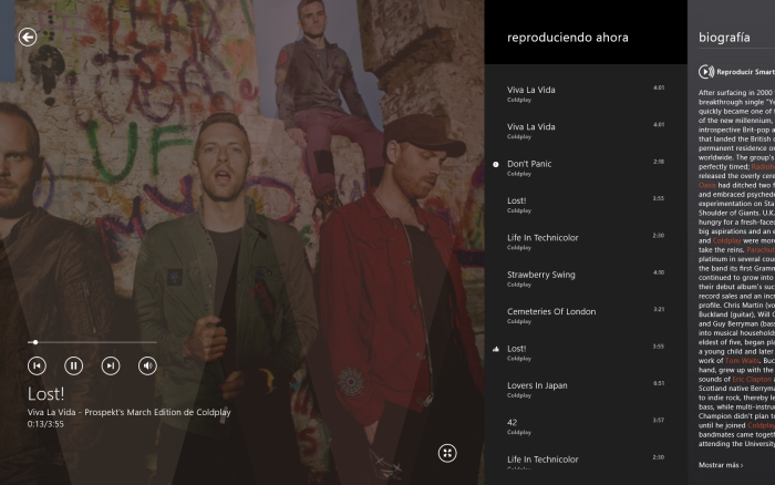 xbox music mejoras reproduccion