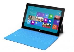 Tablet de Microsoft con Windows RT