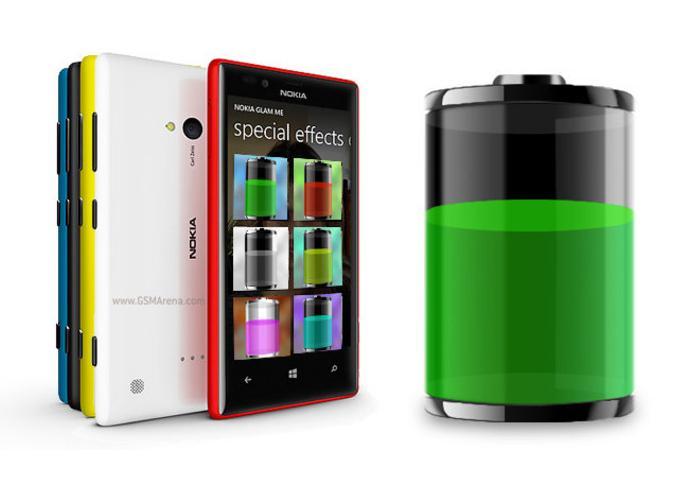 Nokia Lumia 720 Batería