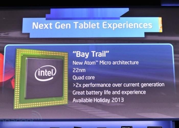 Tabletas Intel