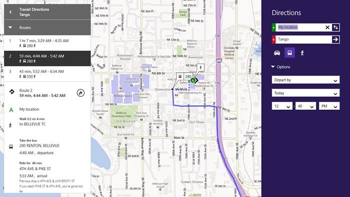 Actualización de Bing Mapas