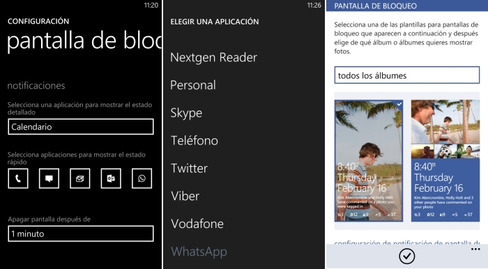 configurar notificaciones windows phone