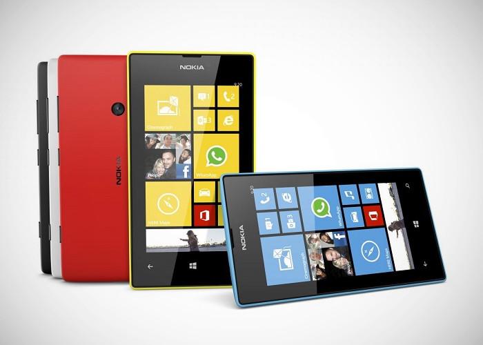 Gama de colores de Nokia Lumia 520