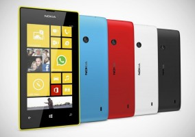 Colores del Nokia Lumia 520