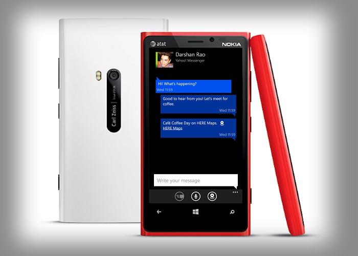 Nokia Chat en Nokia Lumia 920