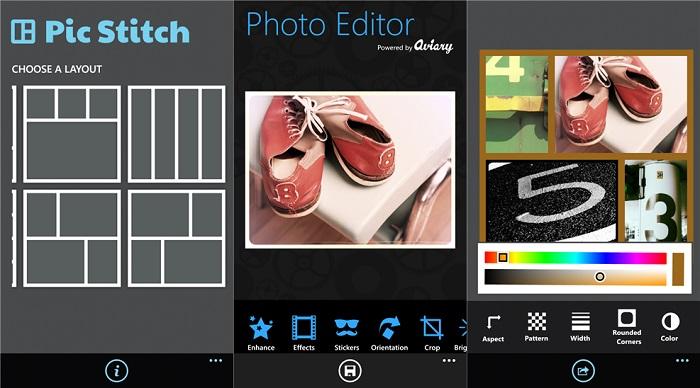 Capturas de Pic Stitch