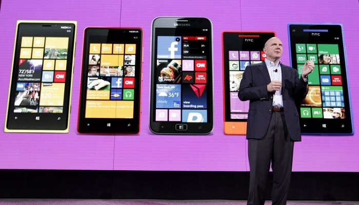 Steve Ballmer presenta Windows Phone 8