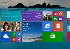 Windows 8.1 Pantalla de Inicio
