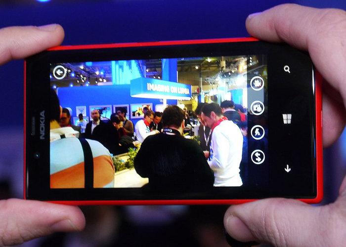 Nokia Lumia 720 Cámara