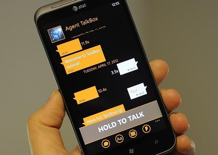 Talkbox Mensajería de voz