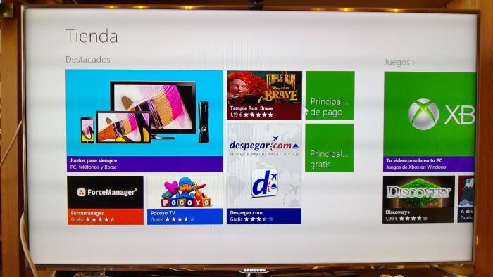 Windows 8 en tu televisión del salón, ¿una buena combinación?