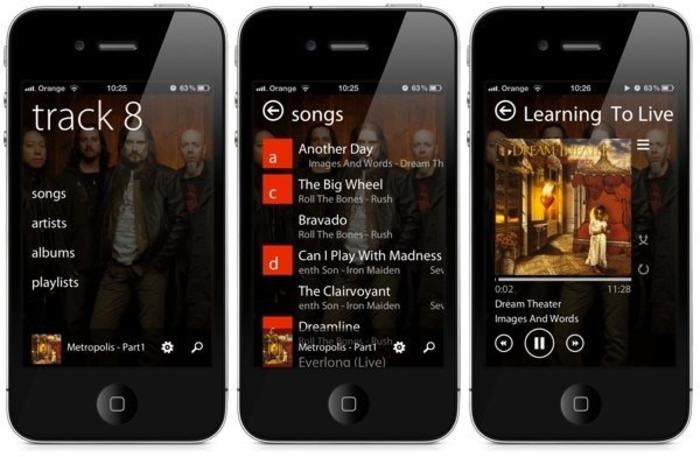 iOS 7 interfaz modern UI